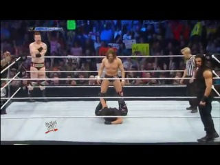 [Dean Ambrose Official Fan - Page] WWE Friday Night SmackDown 31.01.2014 -Daniel Bryan, Rey Mysterio & Sheamus vs. The Shield (Dean Ambrose, Roman Reigns & Seth Rollins)
